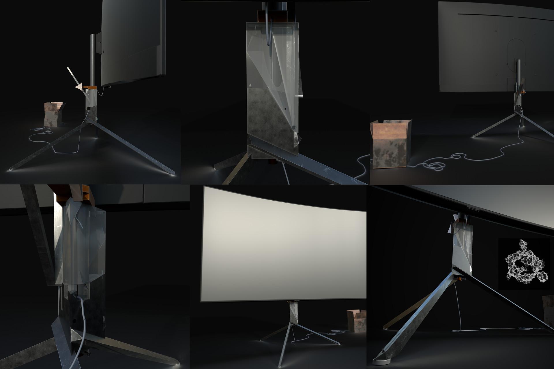 monitor stand board 2