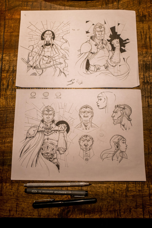 Vincent derozier vincent derozier drawings 21