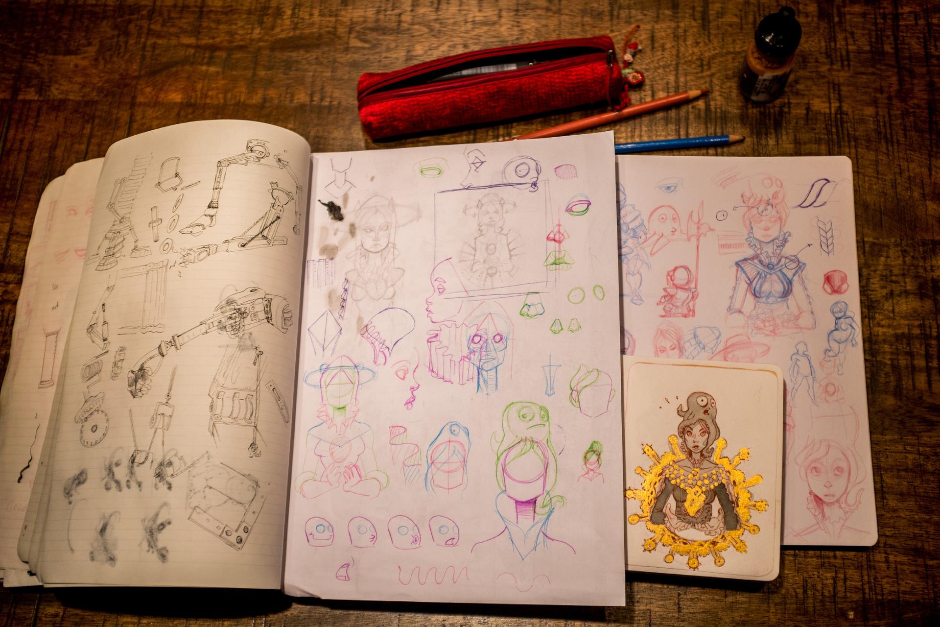Vincent derozier vincent derozier drawings 22