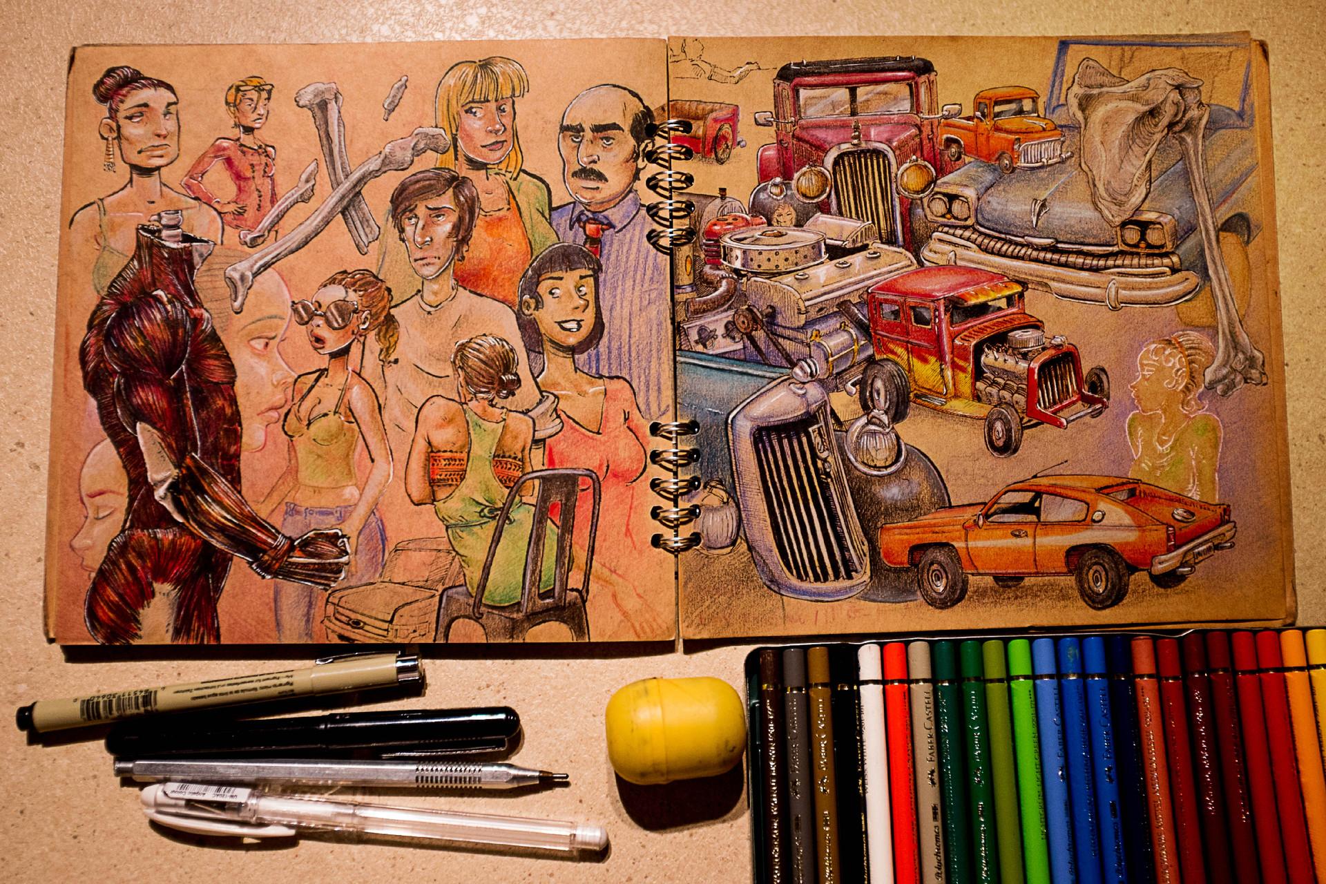 Vincent derozier vincent derozier drawings 6