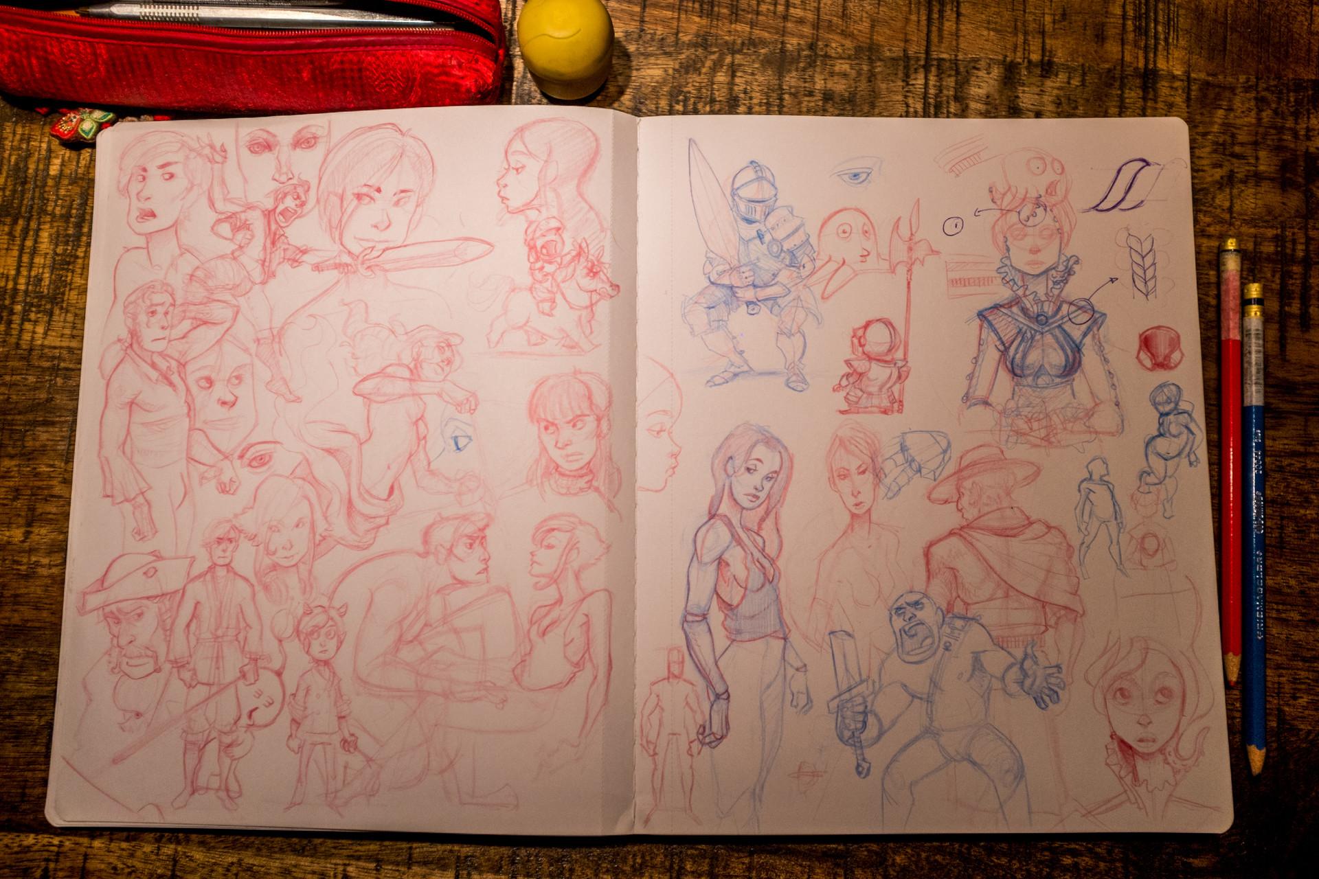Vincent derozier vincent derozier drawings 11