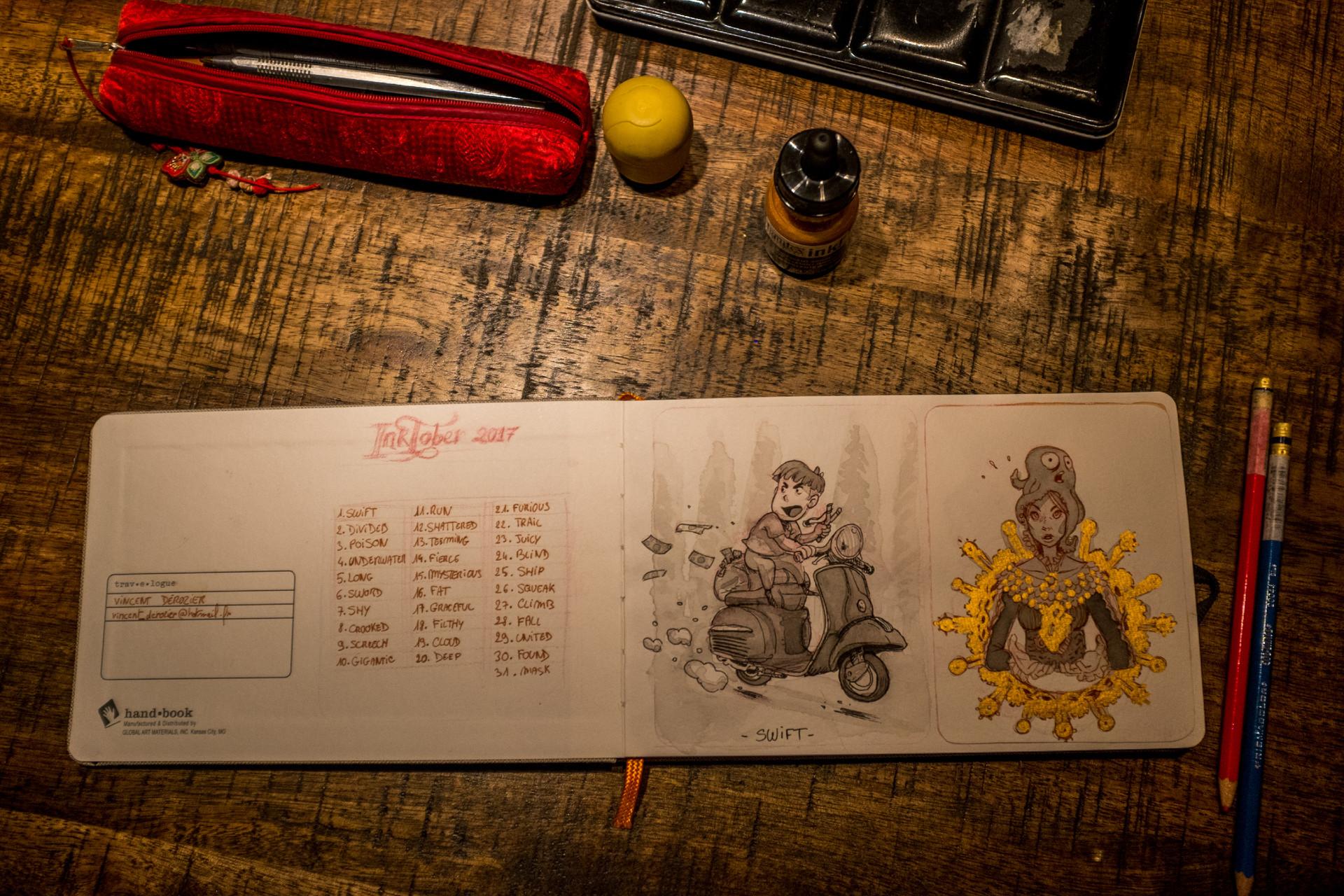 Vincent derozier vincent derozier drawings 12
