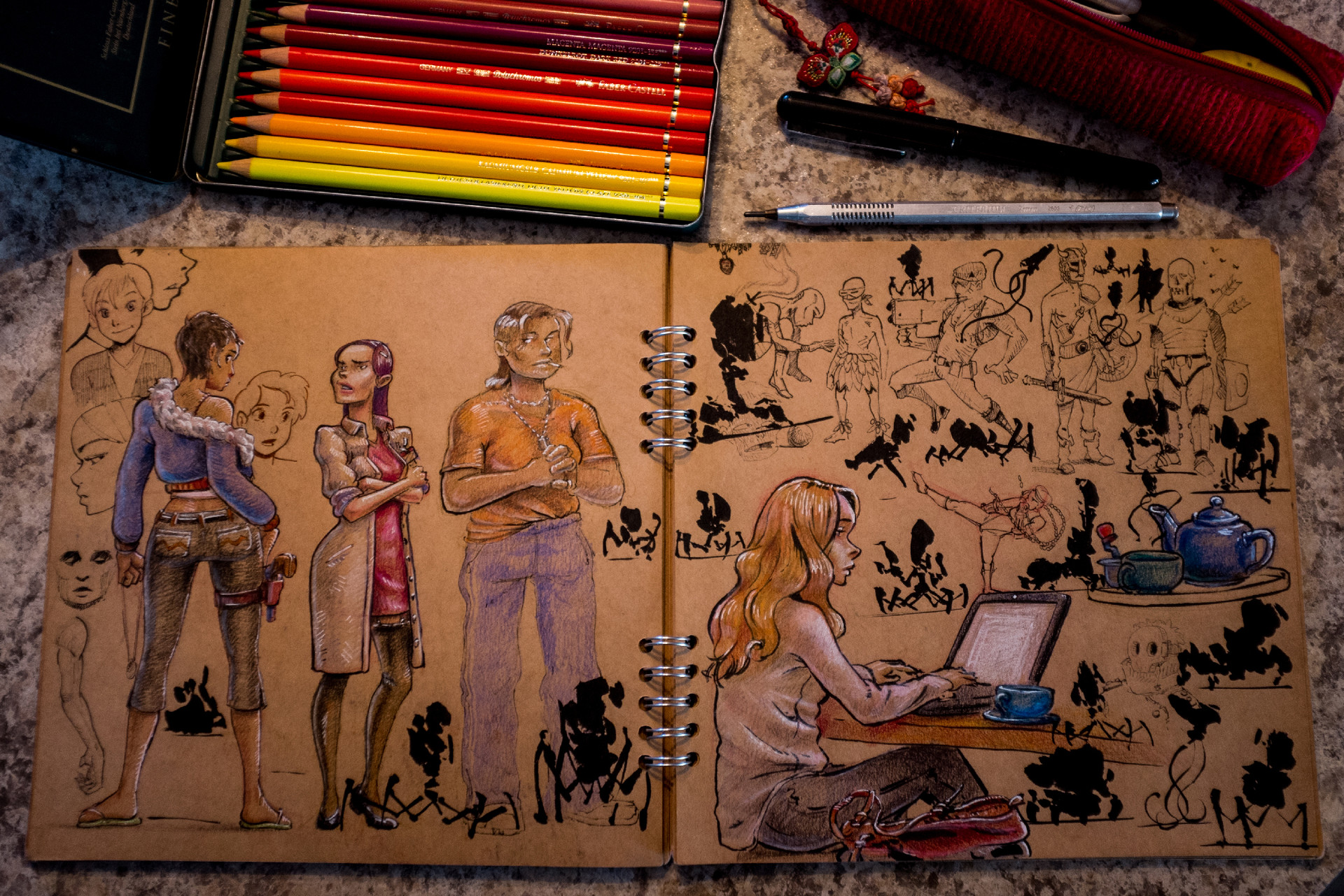 Vincent derozier vincent derozier drawings 3