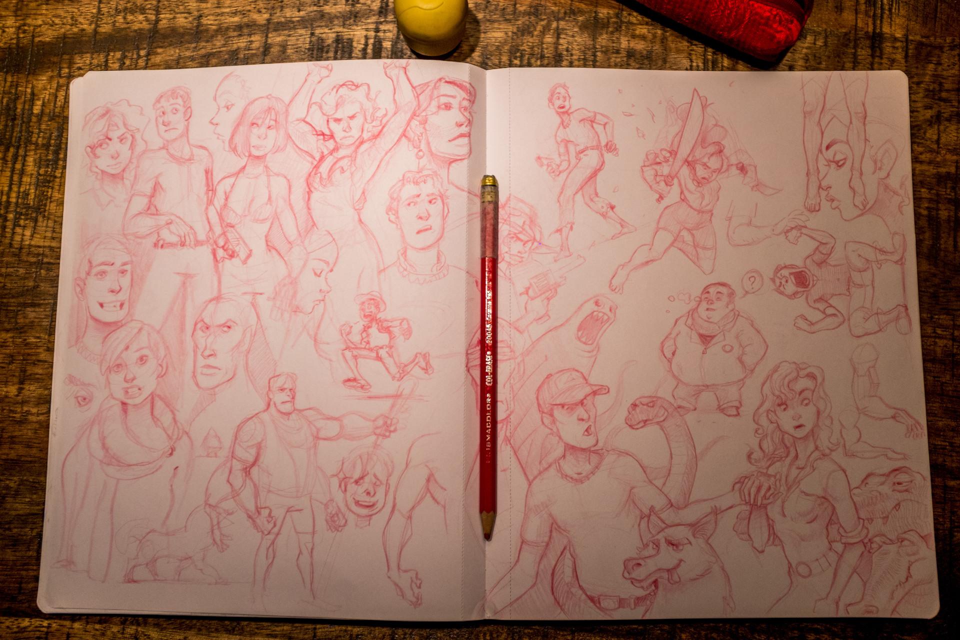 Vincent derozier vincent derozier drawings 10
