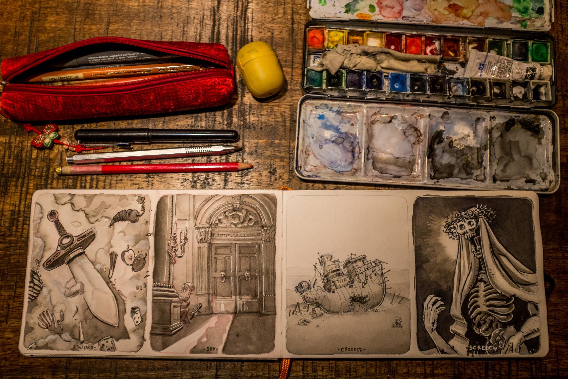 Vincent derozier vincent derozier drawings 14