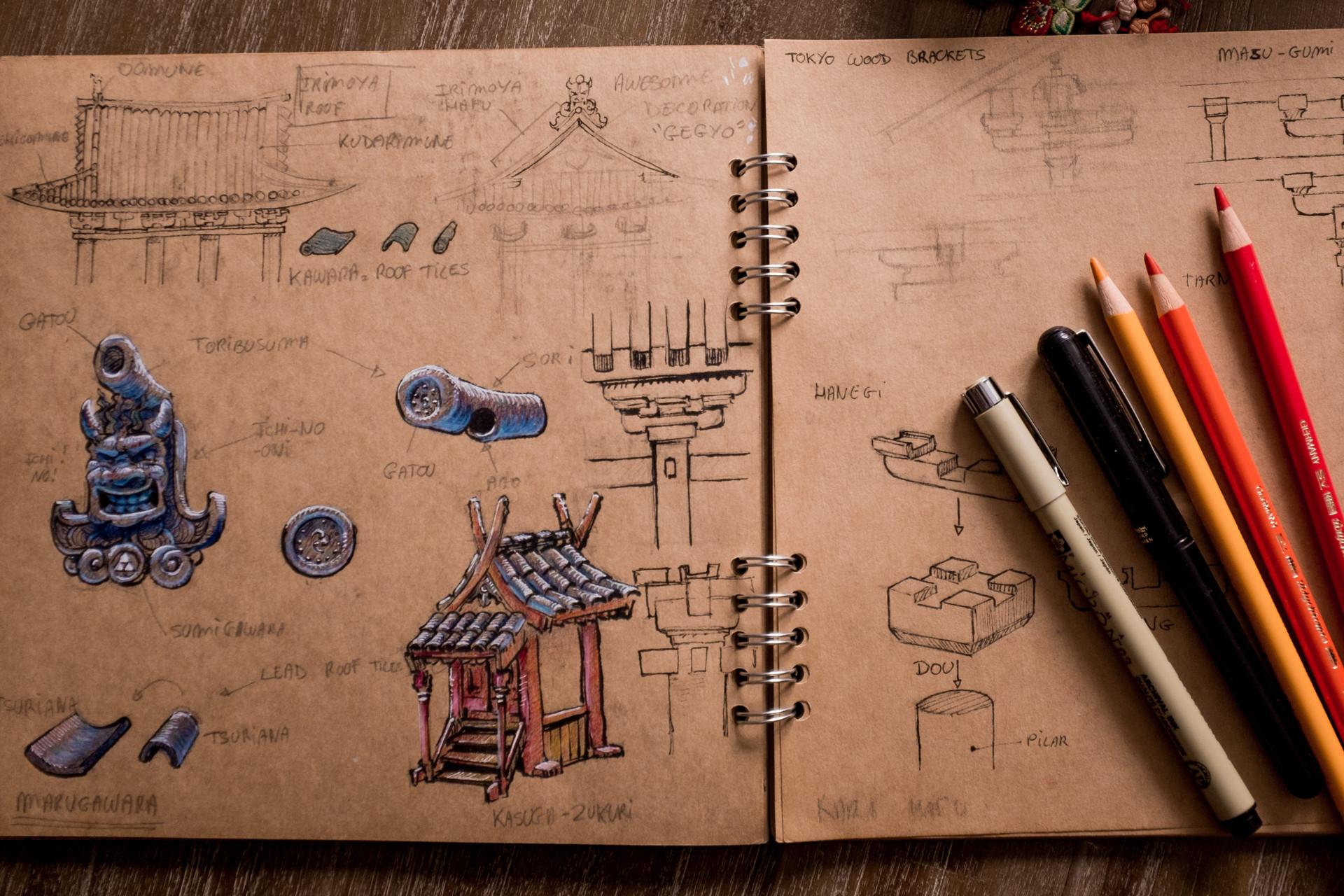 Vincent derozier vincent derozier drawings 5