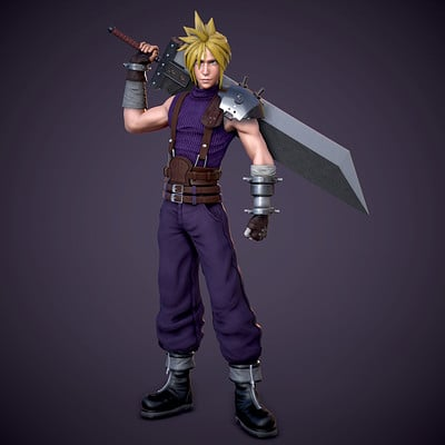 Cloud Strife - Final Fantasy 7 Fan Art