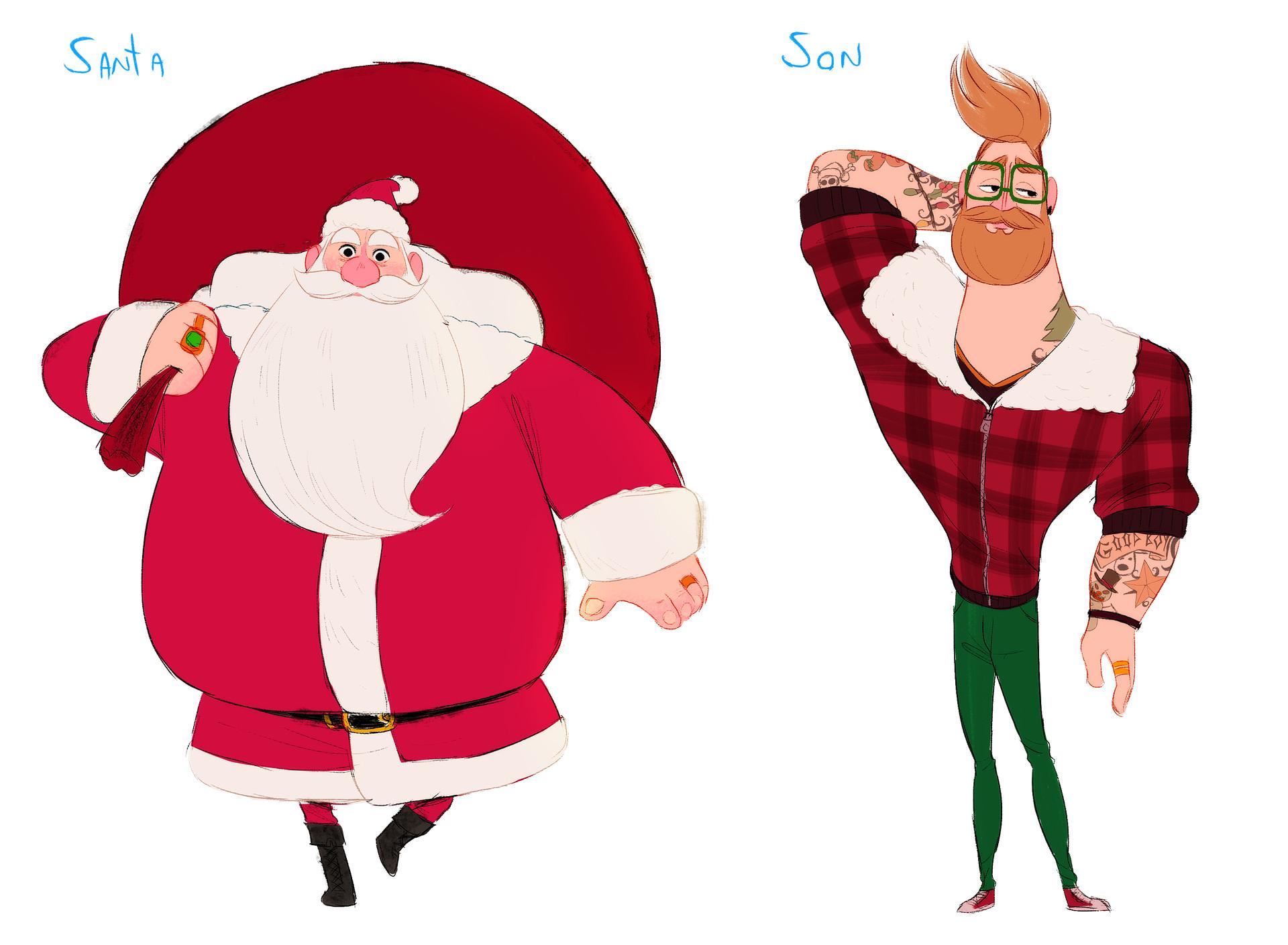 Rayner alencar santa and son