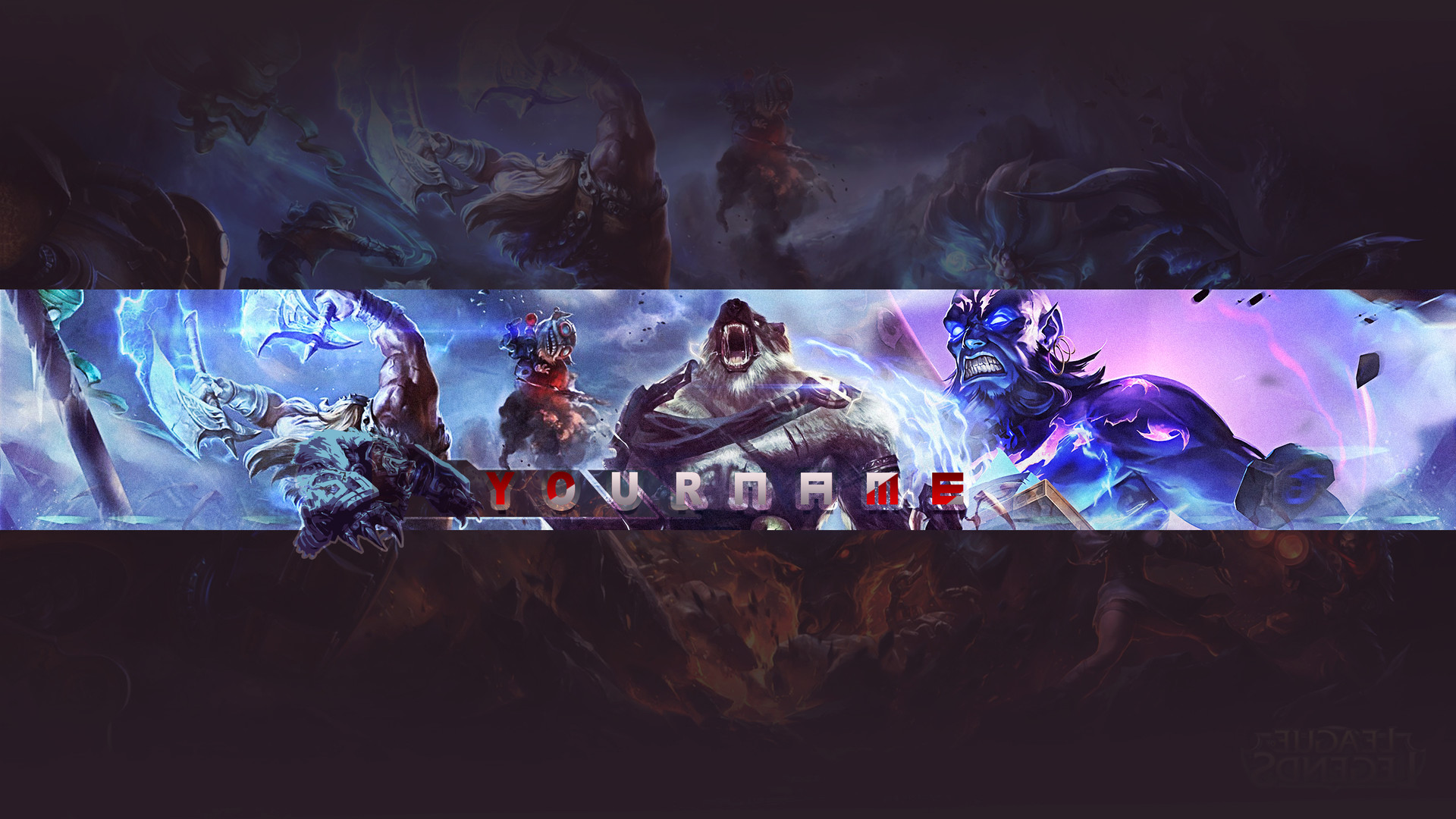 Artstation Channel Art For Youtube Vicente H Mba