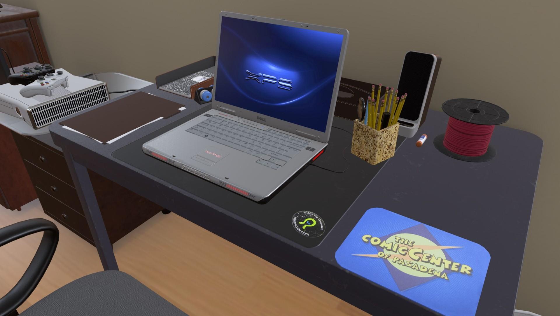 3D Model The Big Bang Theory Living Room