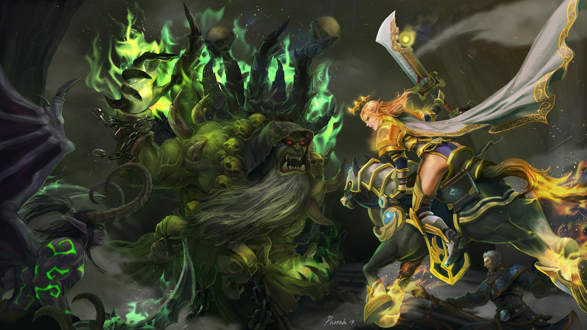 Artstation World Of Warcraft Region Fanart The Final