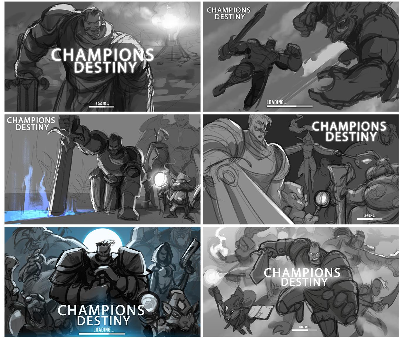 ArtStation - Champions Destiny, Guillem Serret