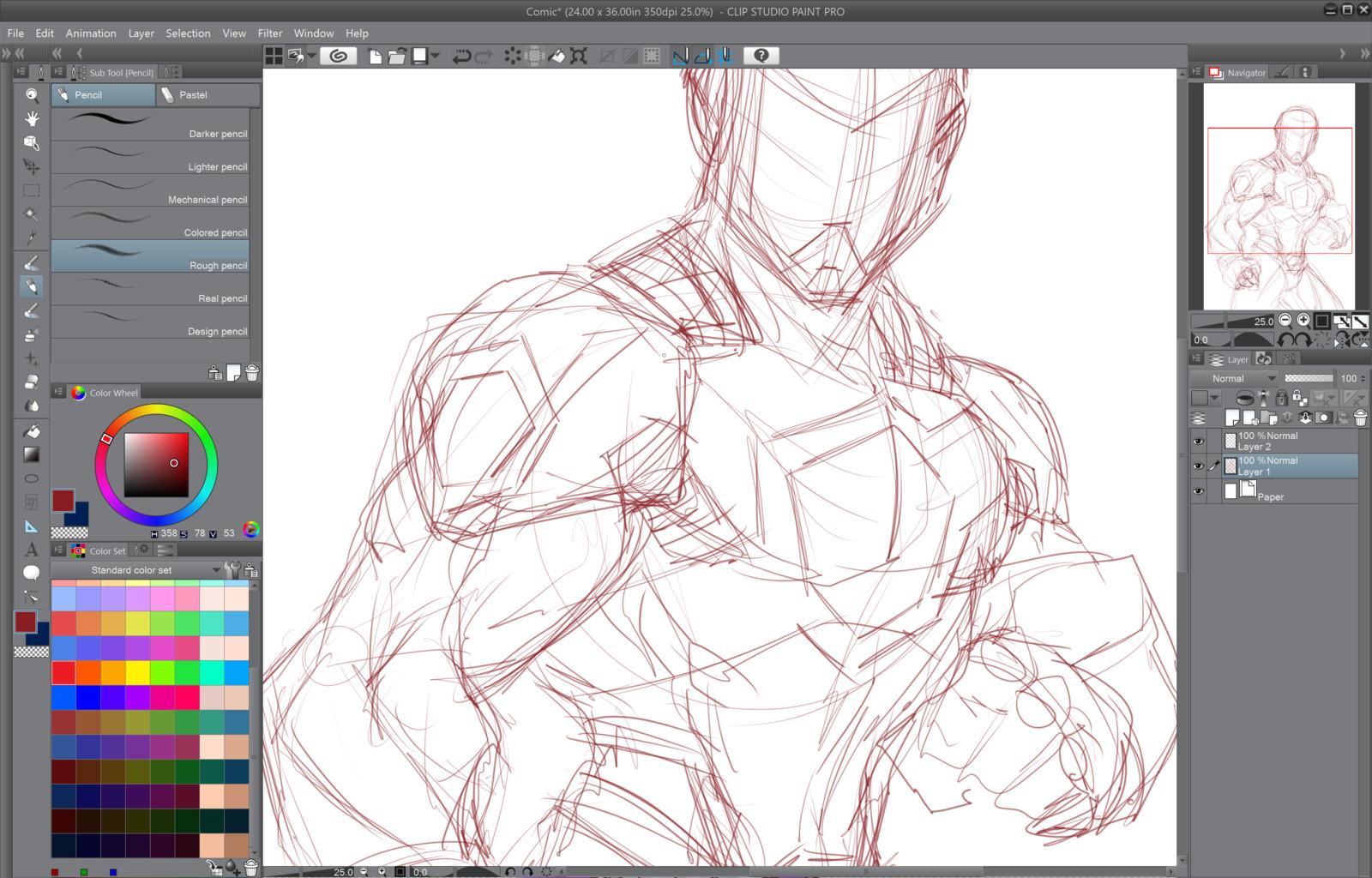 01- Rough Sketch