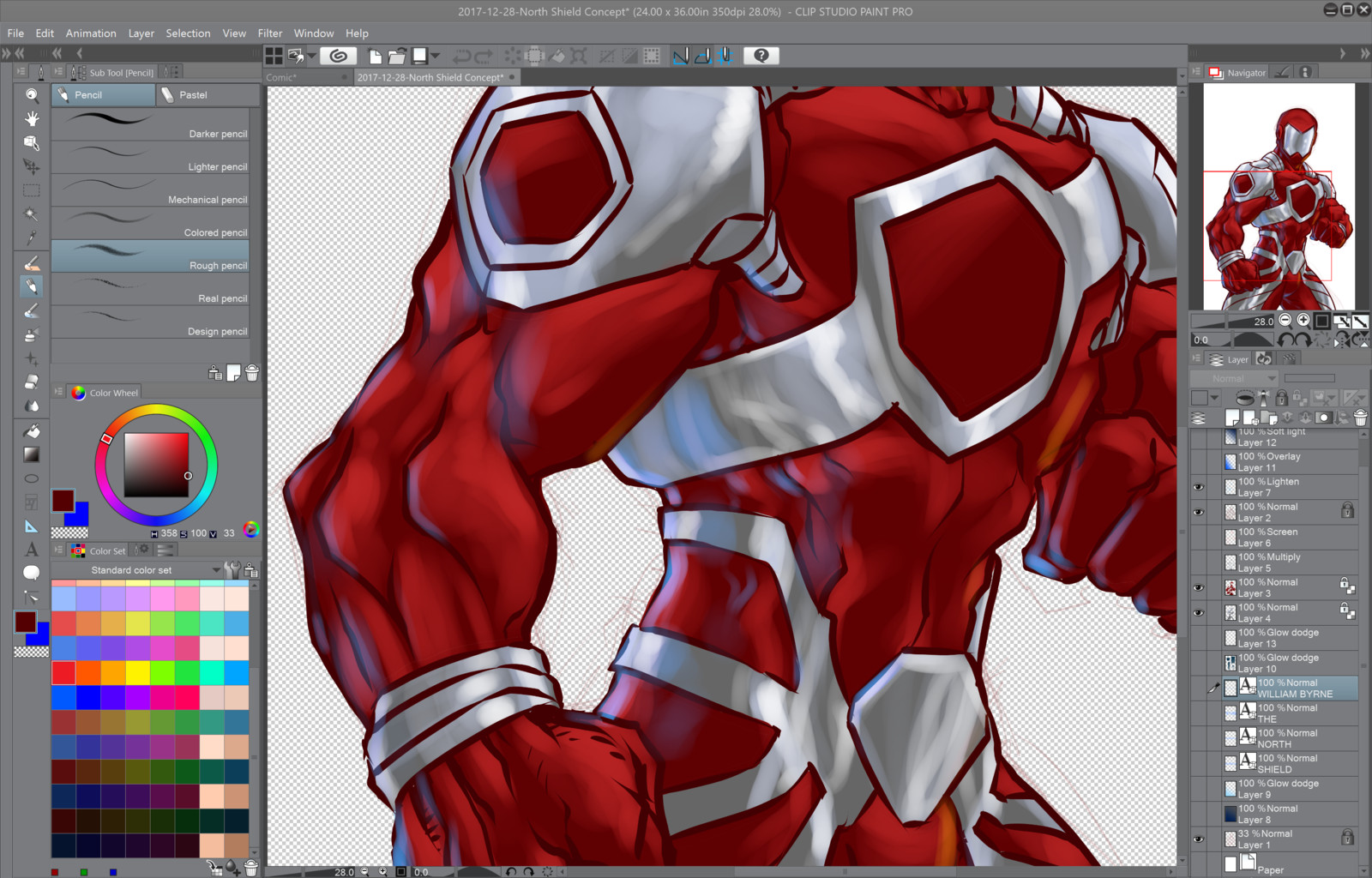 04- Painting the armor