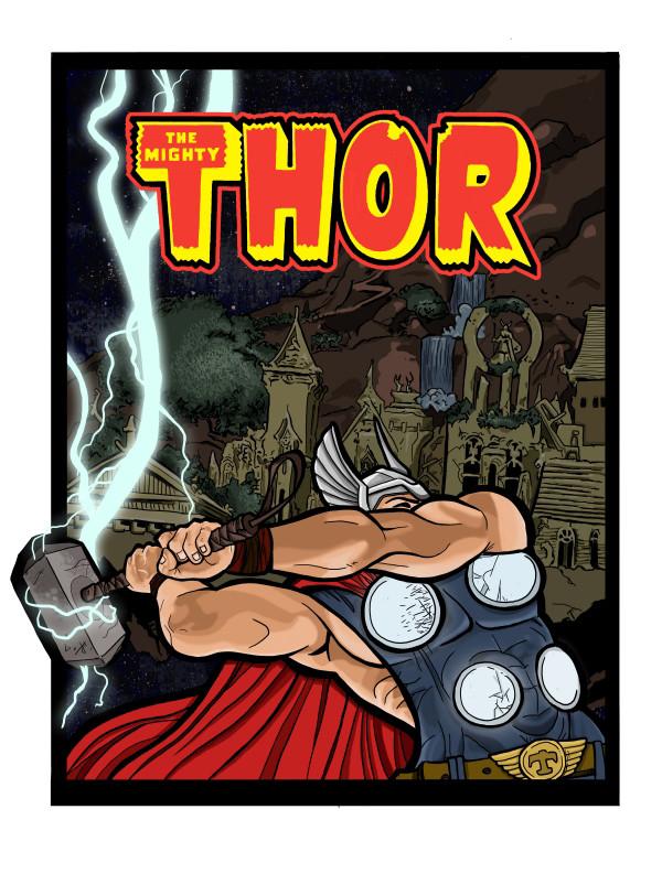 Thor as John Henry