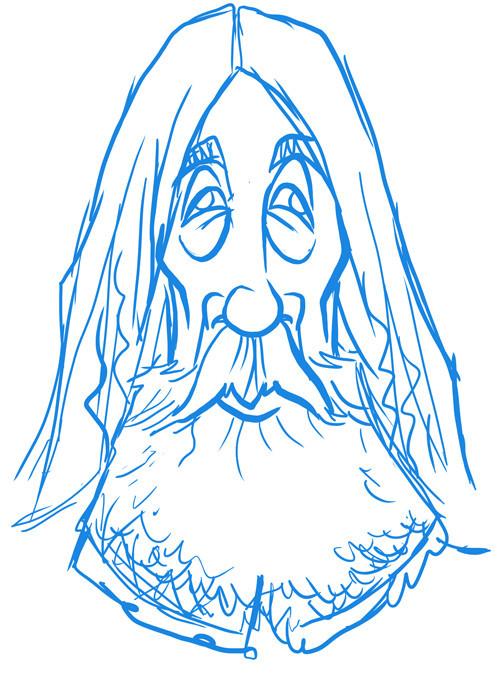Alan Moore (sketch)