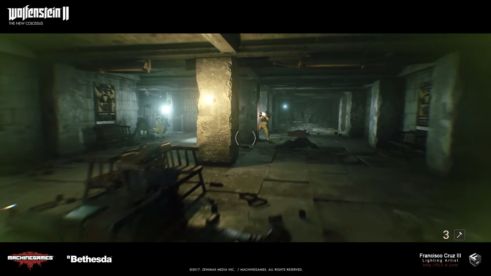 Perf & optimizations for the radiated New York bunker. Greatly reduced dynamic lights and/or converted to static, environment probes, re-lit areas as needed~