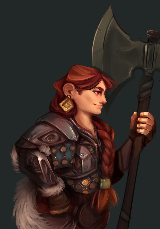 Queen Astrid's Dwarven Stout