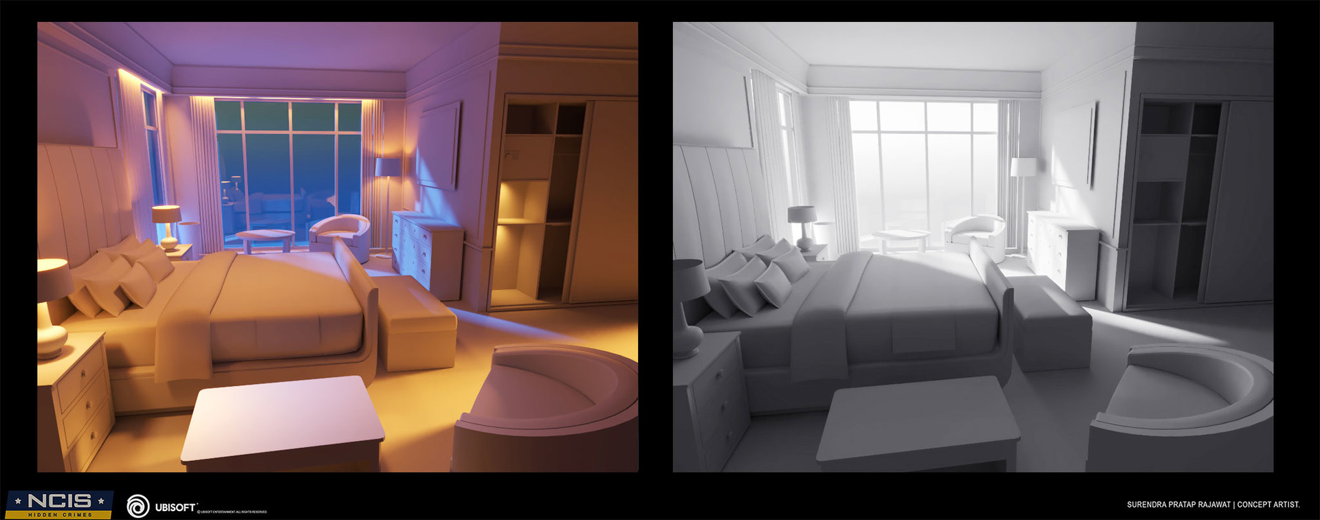 Surendra rajawat hotel room process