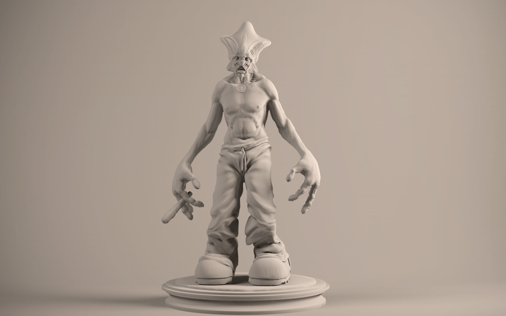 Character sculpt
