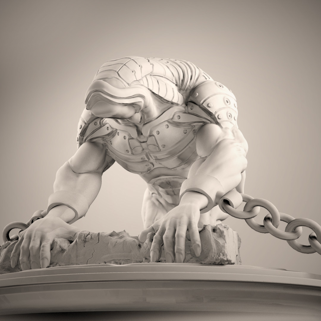 creature design sculpt