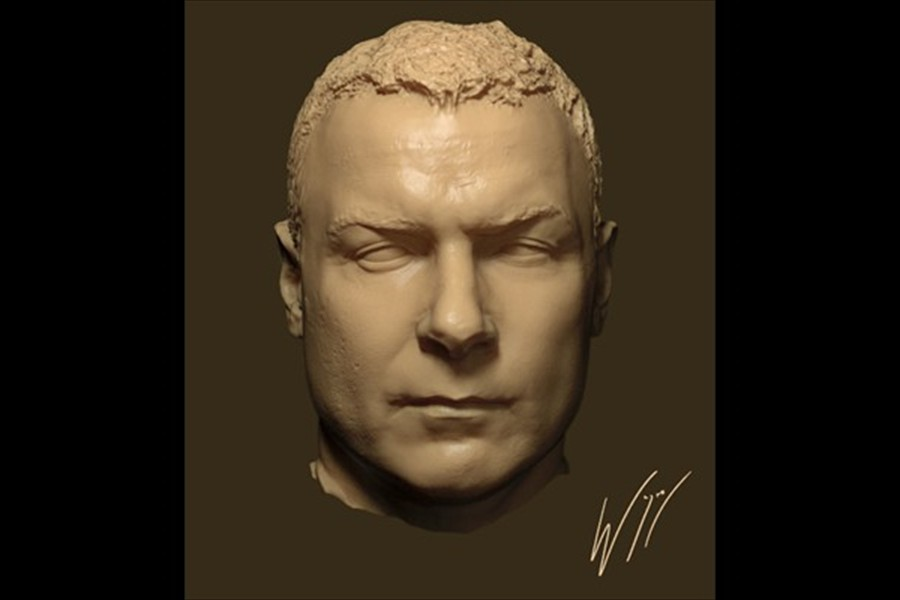 liev schreiber digital double done while 3d supervisor at Screen scene for the film The Last Days on Mars