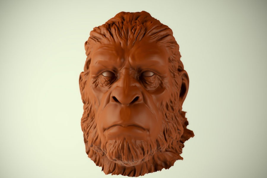 Bigfoot design sculpt