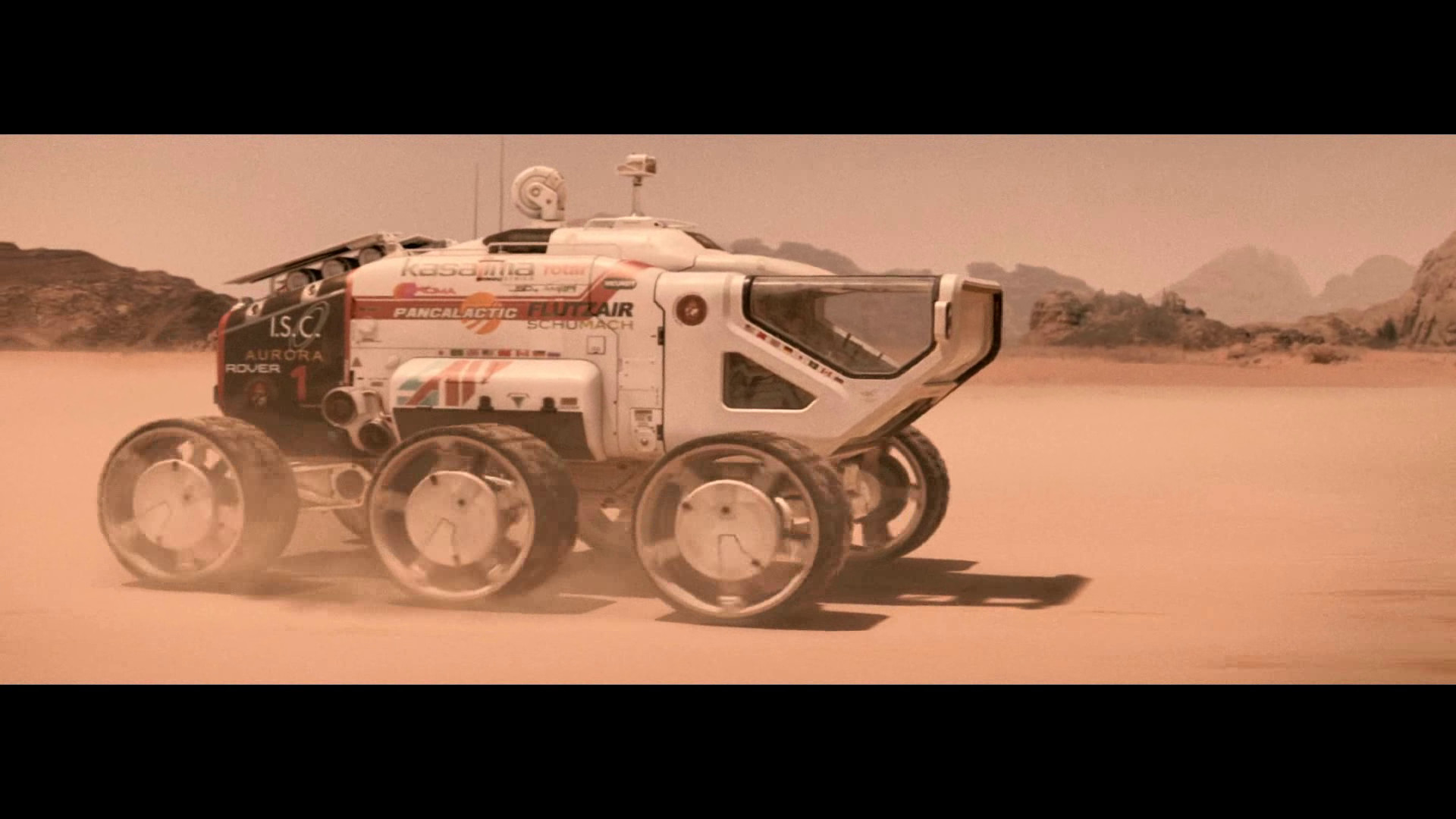 The rover from the film Last days on Mars I was 3d supervisor on