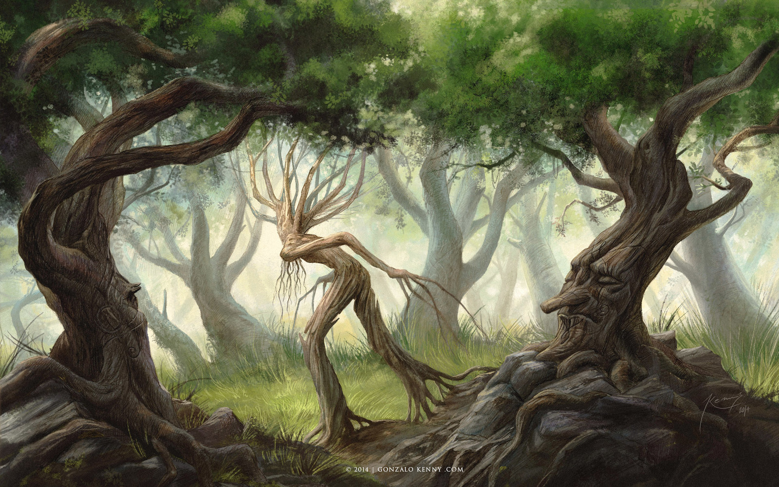 Ents and Huorns