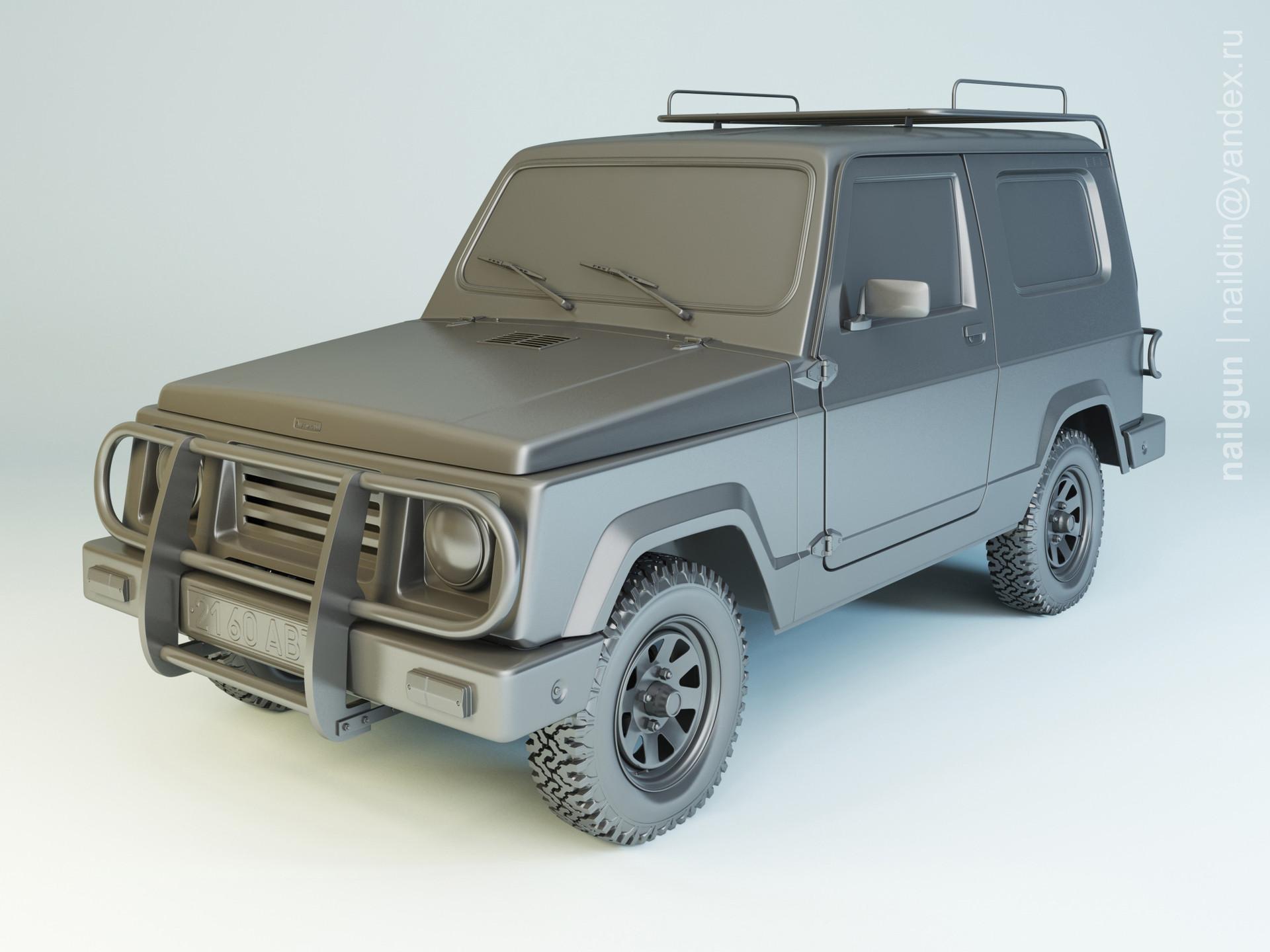 Nail khusnutdinov al 138 002 autokam ranger modelling 0
