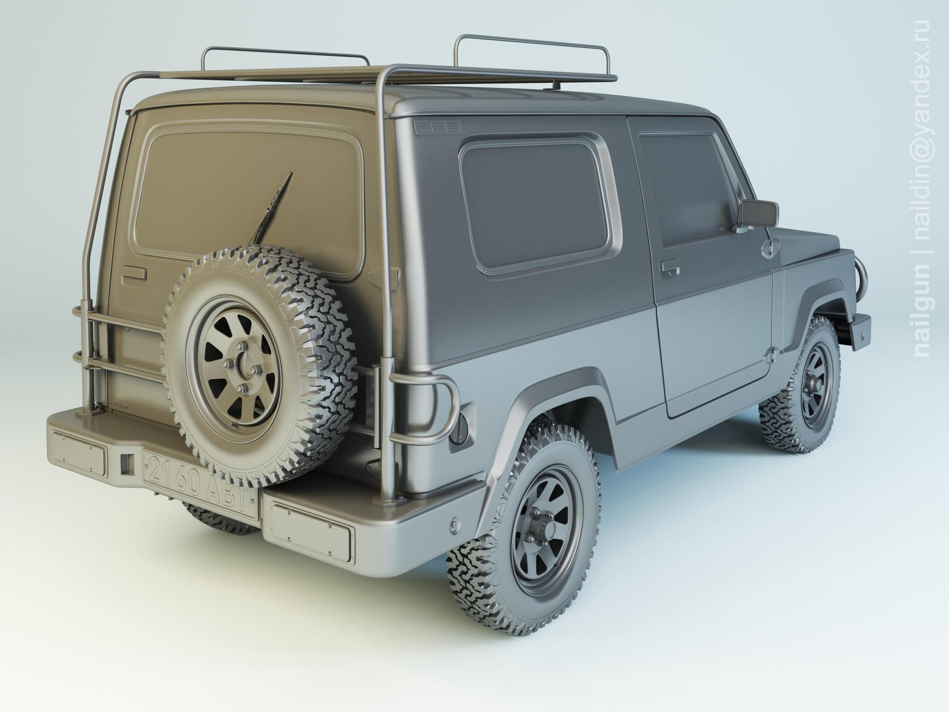 Nail khusnutdinov al 138 002 autokam ranger modelling 1