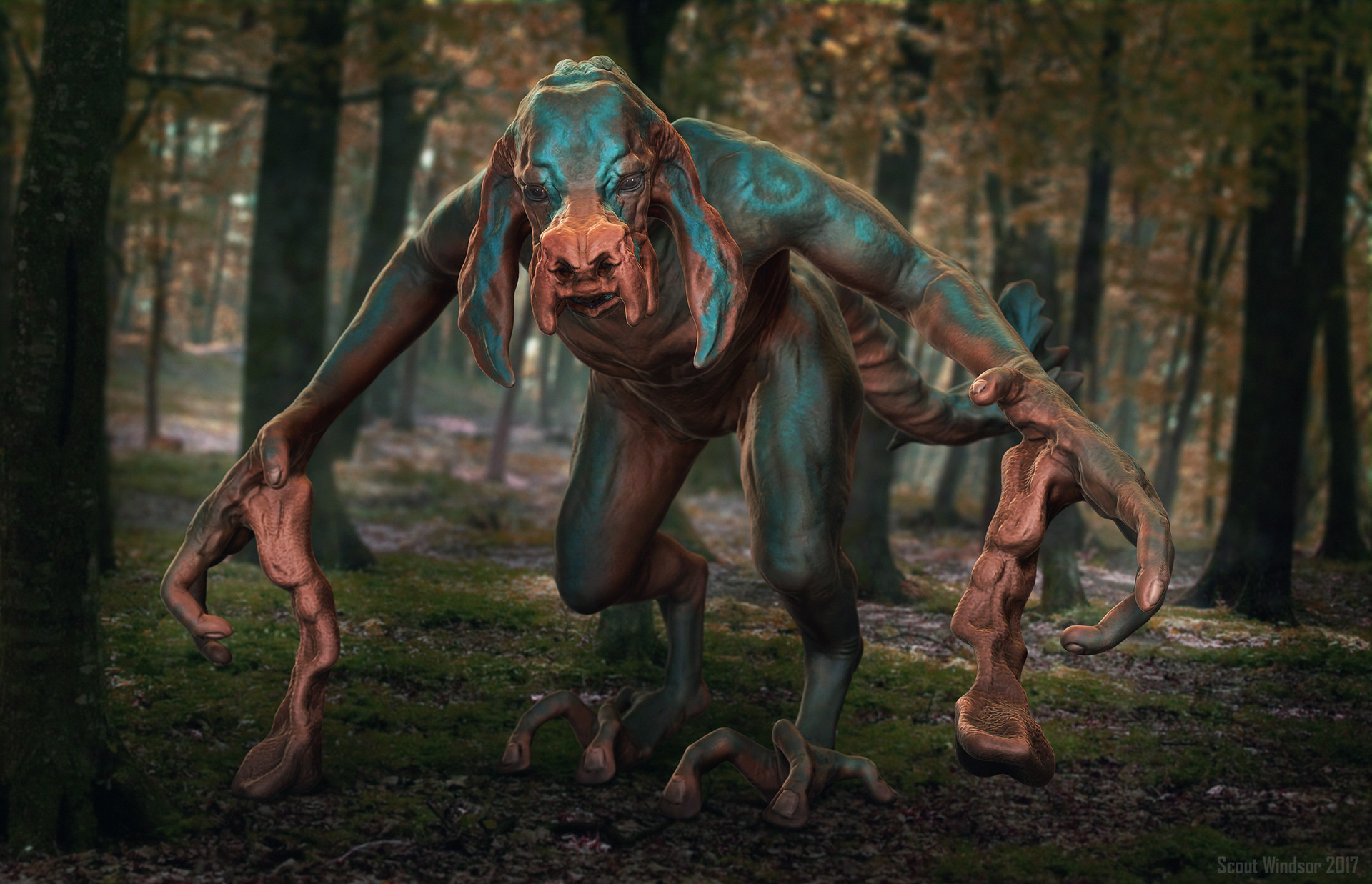 Scout windsor zsphere creature render 2v2 png