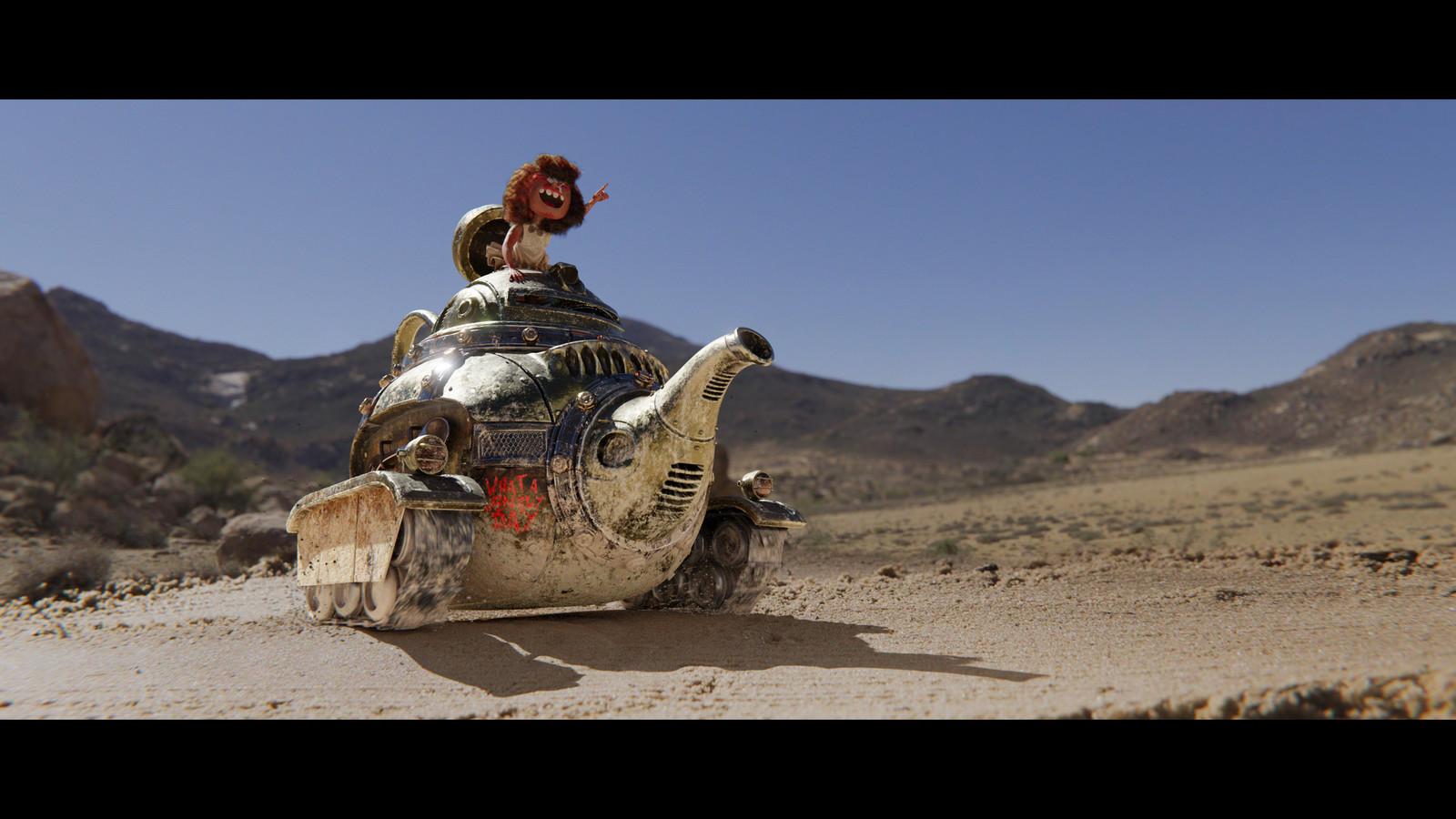 Mad Maxine: Teapot Tank