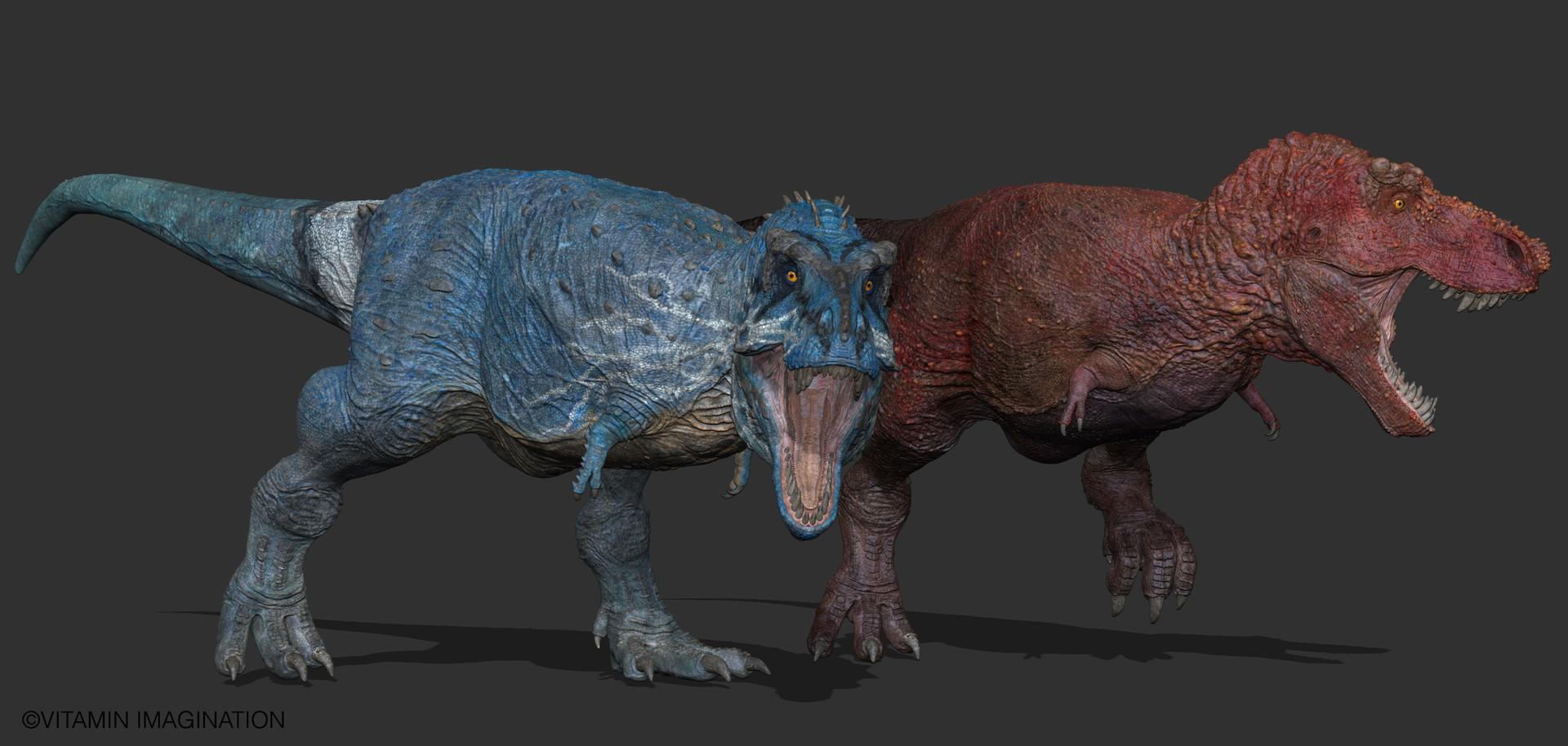 ArtStation - Tyrannosaurus Rex [SUE / STAN] by. Vitamin ...