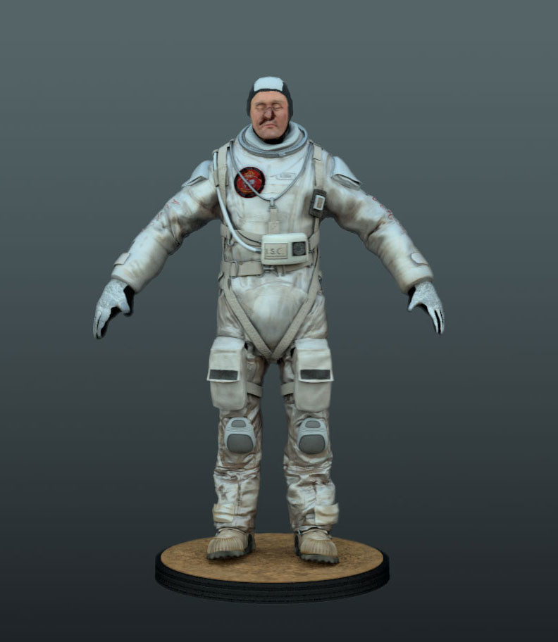 Irwin digital double (Last days on Mars)  