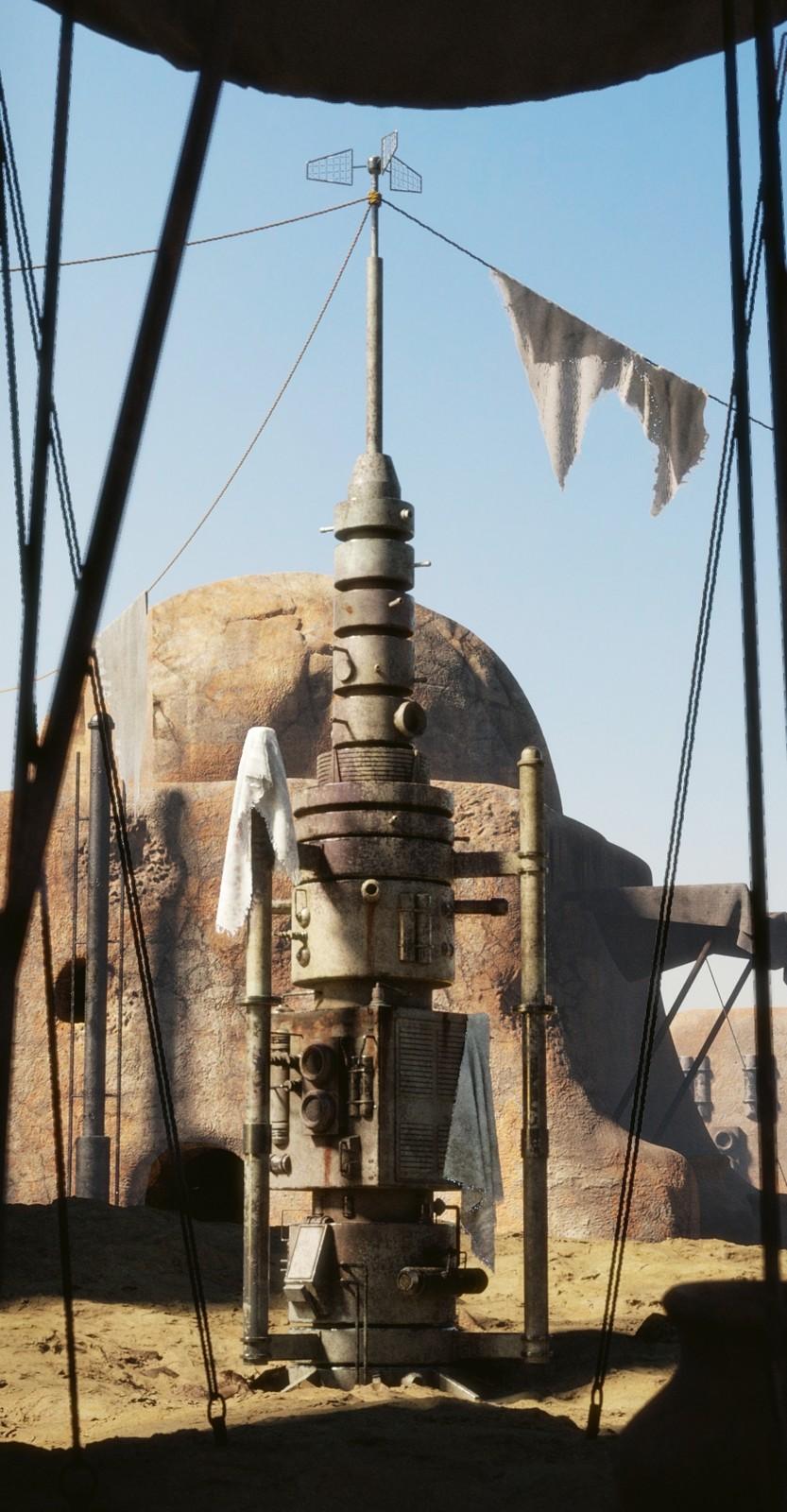 Star Wars Fan Art _ Moisture vaporator