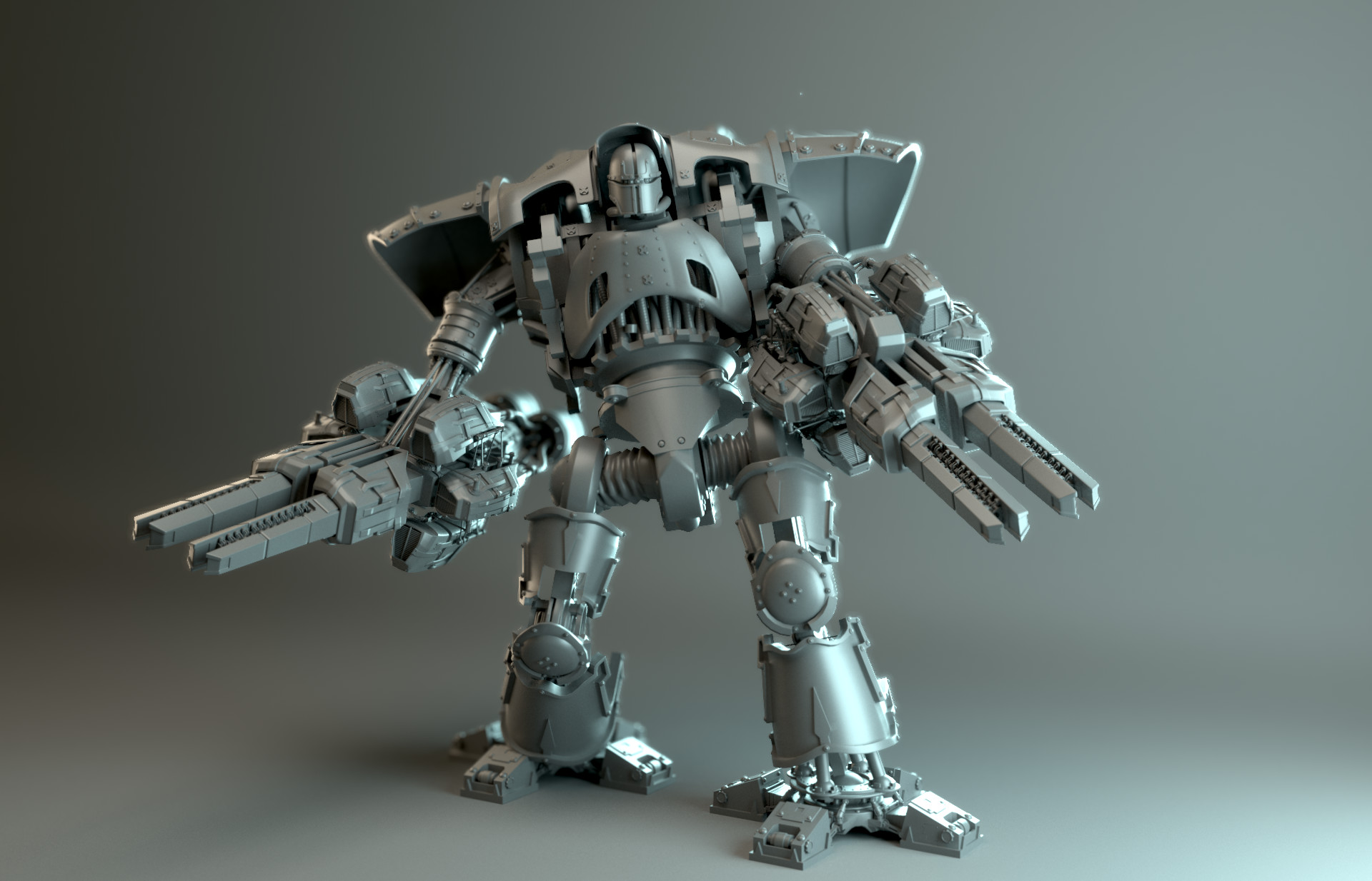 mech lighting example (mech by cris robson used with permission)