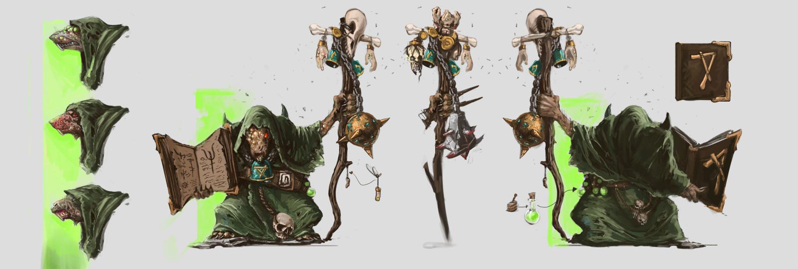 Skaven - Plague Priest