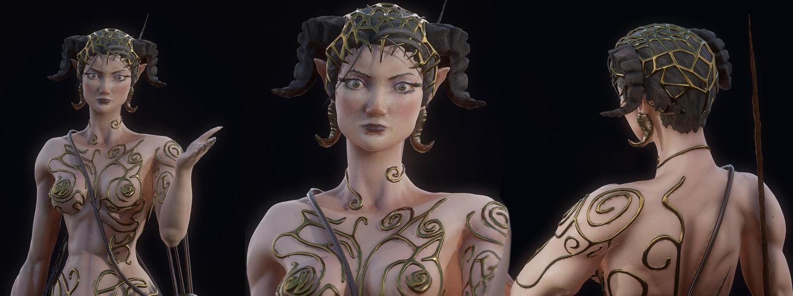 Ursula - Female Centaur