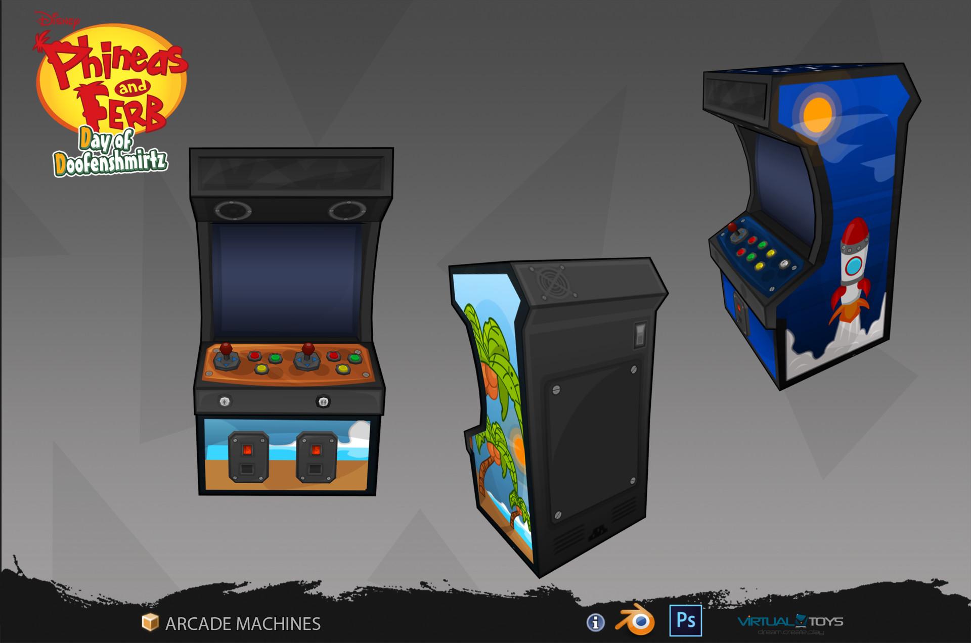Odin fernandez moreno arcade machines