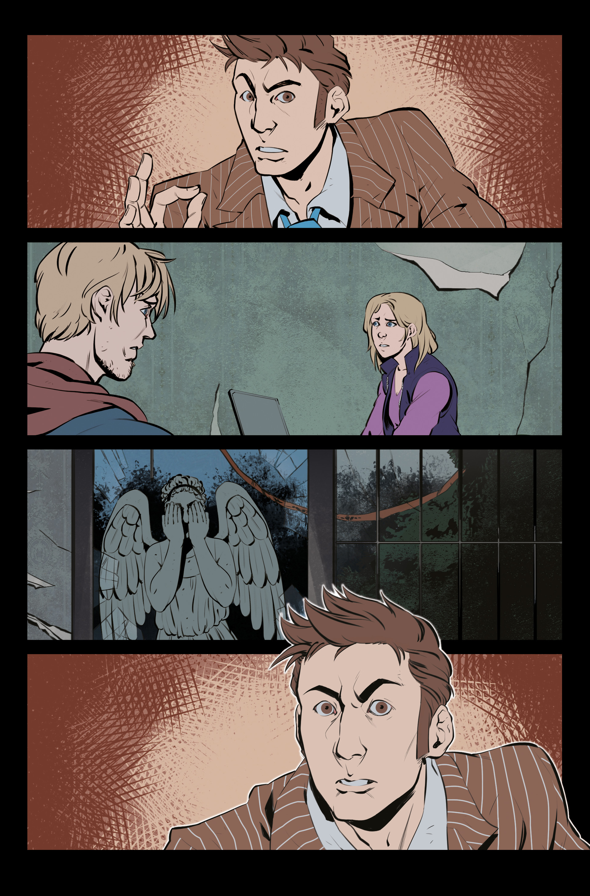 Claudia cocci doctor who page 01 new flat