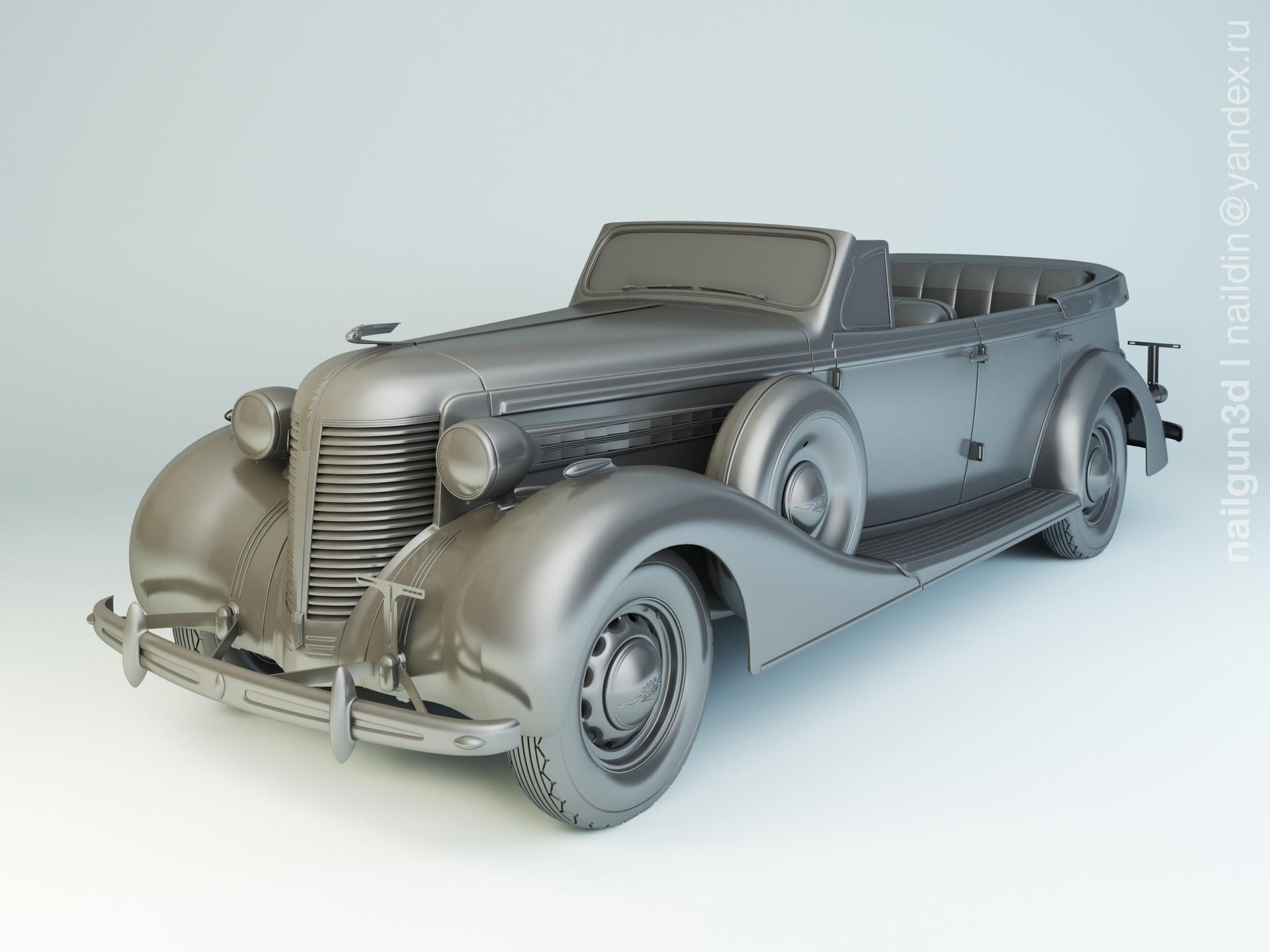 Nail khusnutdinov als 210 014 zis 102a 1939 modelling 0