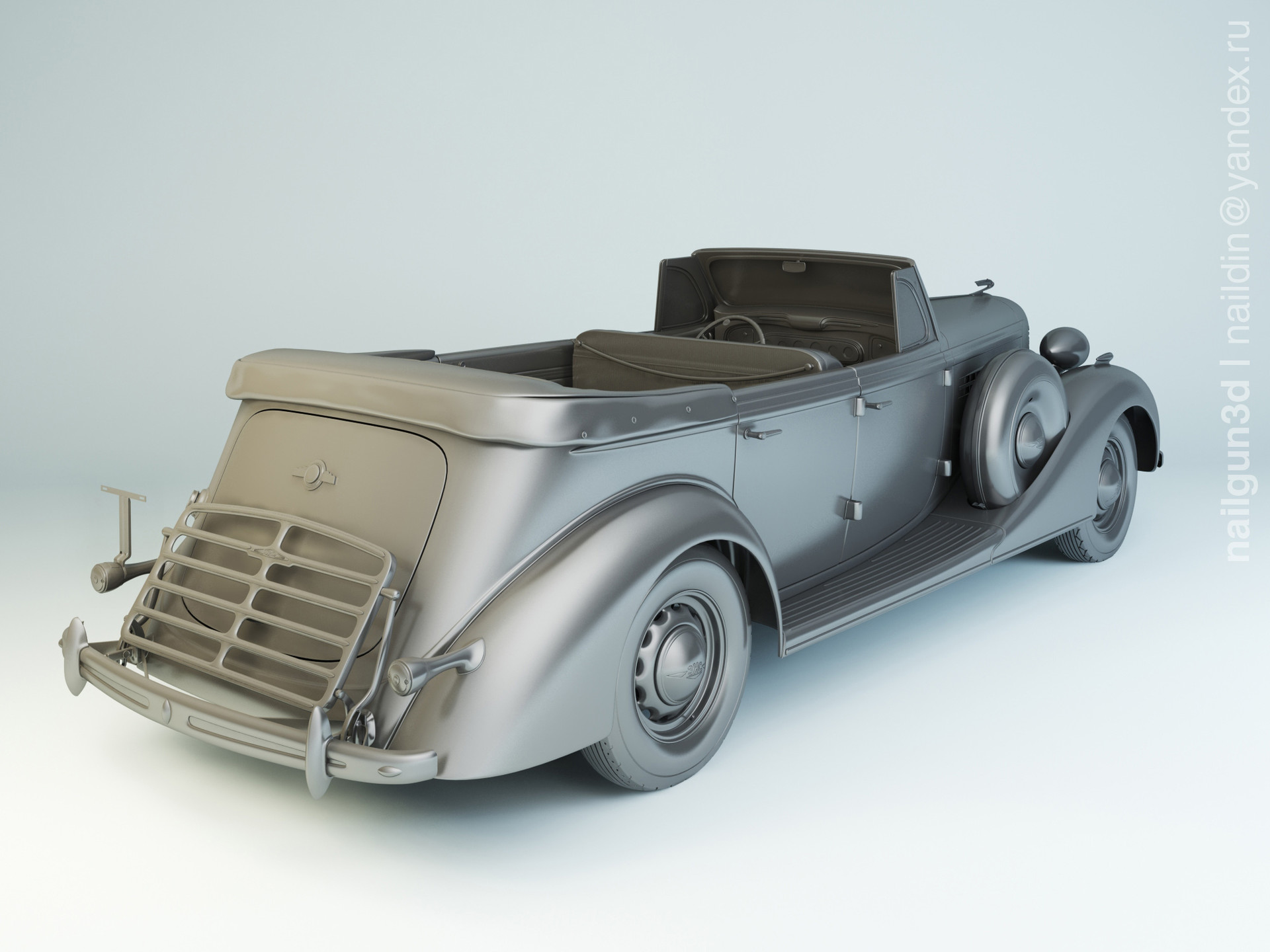 Nail khusnutdinov als 210 014 zis 102a 1939 modelling 1