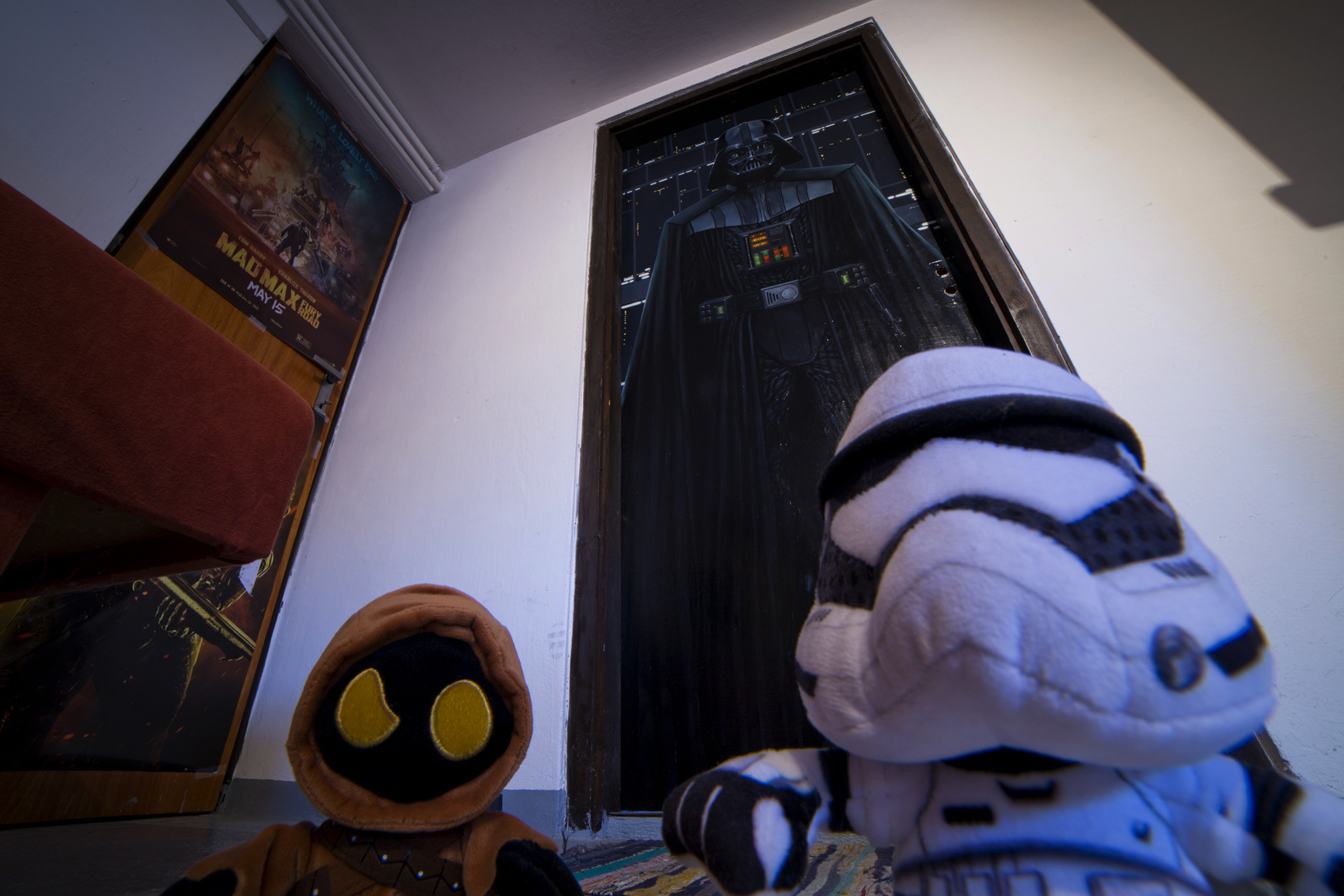 again from a different angle: playing with my new 14mm wide angle sigma lens and these two guys