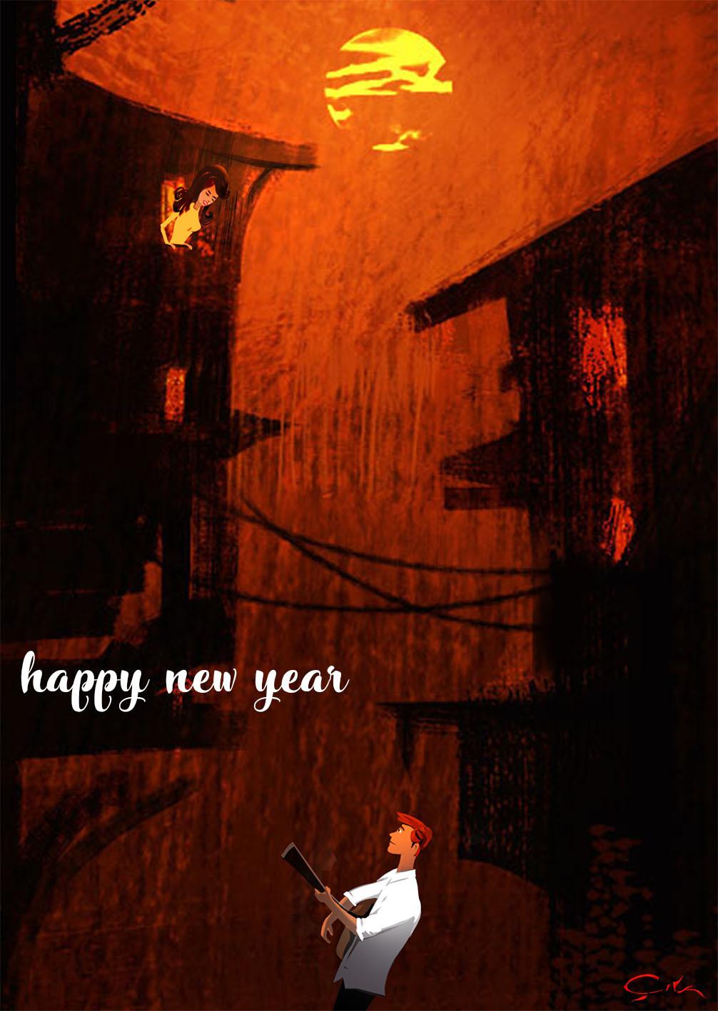 Emrullah cita happy new year