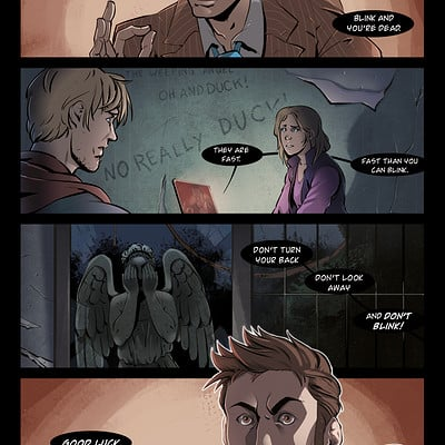 Claudia cocci doctor who page 01 new final