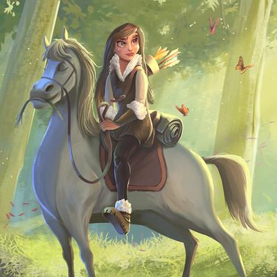 Inaki andonegi horsewoman