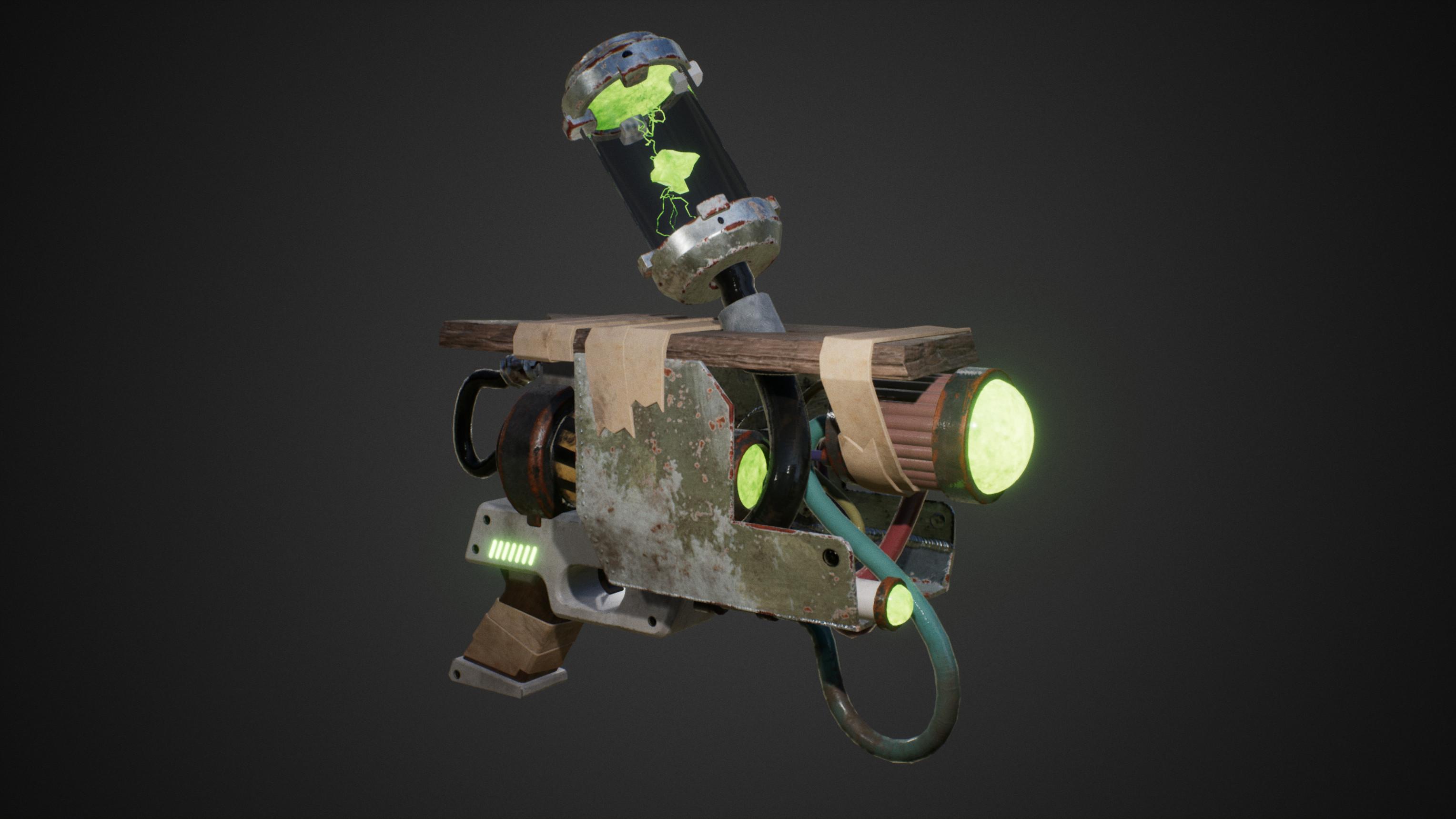 In-engine render