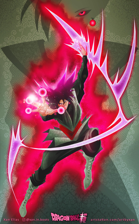 Goku Black - Zamasu concept art