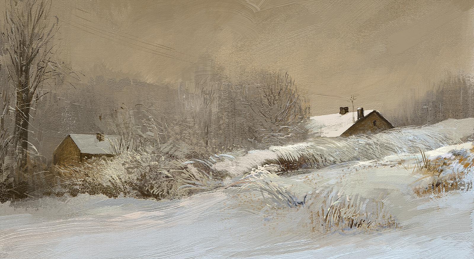 Tymoteusz chliszcz winter landscape4
